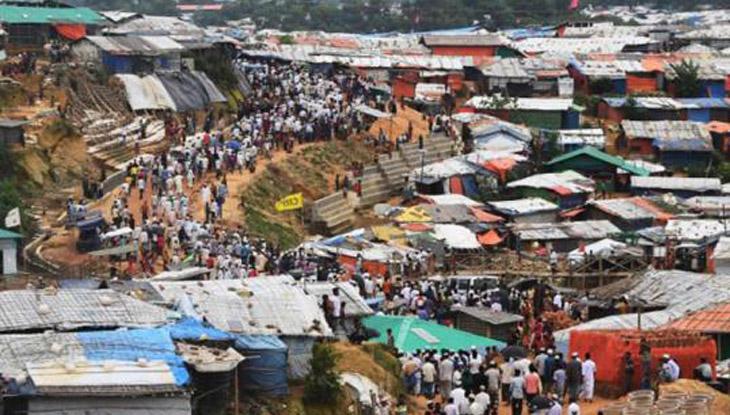 রোহিঙ্গা ক্যাম্পে দুপক্ষের সংঘর্ষে নারী নিহত