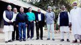 চেলা ও ভোলাগঞ্জ সাব সেক্টর পরিদর্শনে ৪ সাব সেক্টর কমান্ডার