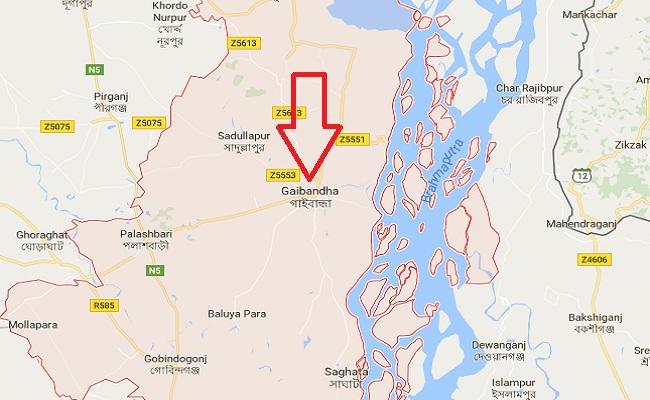 গাইবান্ধার সাদুল্লাপুর লকডাউন