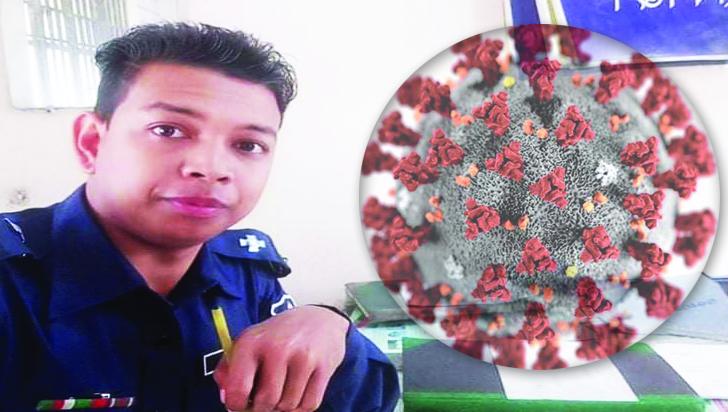 'করোনা যোদ্ধা' চুনারুঘাট থানার এএসআই ইমন