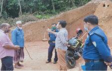 জুড়ীতে টিলা কাটার দায়ে তিন লাখ টাকা জরিমানা