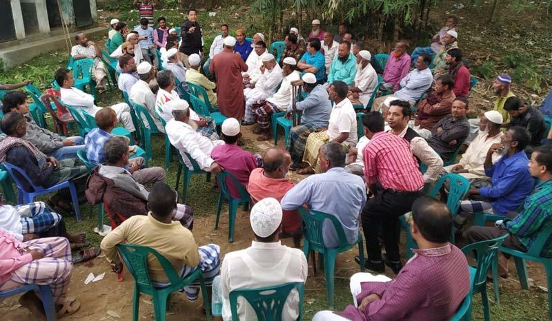 জৈন্তাপুরে মহিলা মাদ্রাসার অনিয়ম ও দূর্নীতির বিরুদ্ধে সোচ্চার এলাকাবাসী