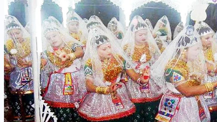 ঐতিহ্যবাহী মনিপুরি মহারাসলীলা উৎসব সোমবার