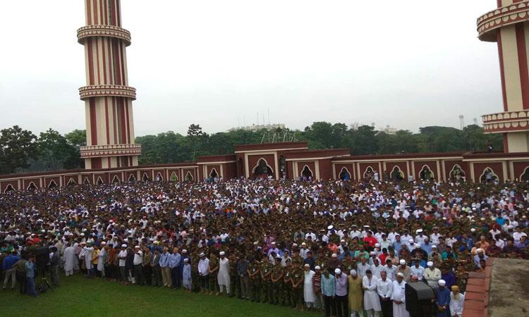 এরশাদের প্রথম নামাজে জানাজা অনুষ্ঠিত: ৪র্থ জানাযা ১৬ জুলাই